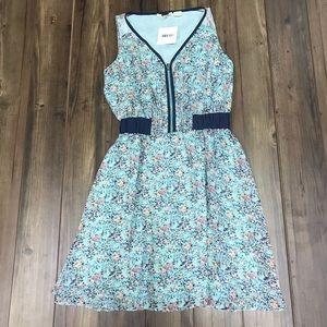 NWT Miss Me Women's Jade Floral Dress  zipper